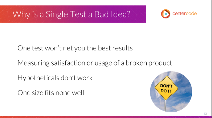 Picking the Right Test Strategy