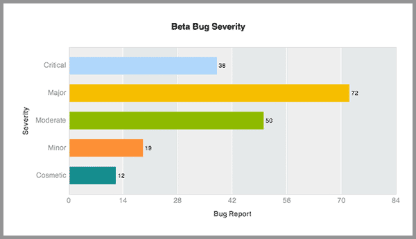 Bug Severity Report
